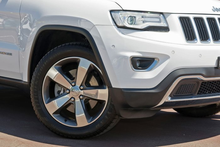 2015 Jeep Grand Cherokee Limited WK MY15 4X4 Dual Range White