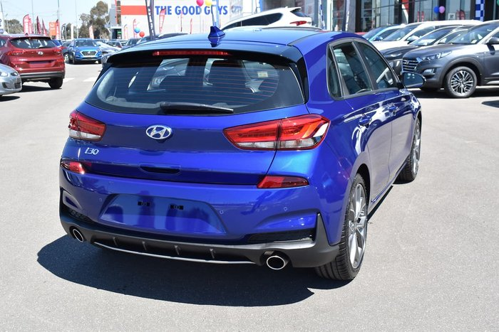 2019 Hyundai i30 N Line PD.3 MY20 Blue
