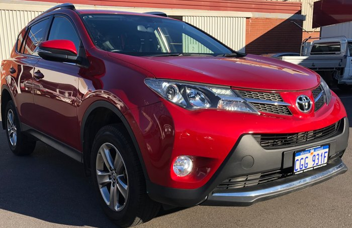 2015 Toyota RAV4 GXL ZSA42R MY14 Red