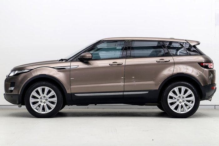 2015 Land Rover Range Rover Evoque TD4 Pure L538 MY15 4X4 Constant Brown