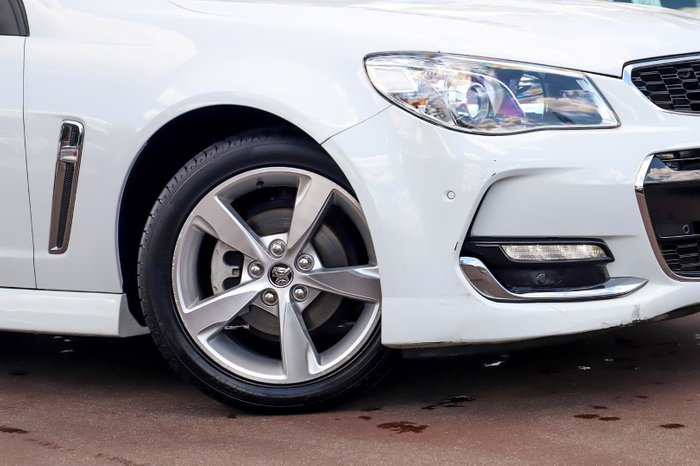 2015 Holden Commodore SV6 VF Series II MY16 White