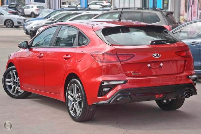 2019 Kia Cerato Sport+ BD MY19 Red
