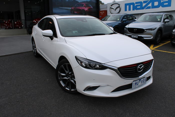 2017 Mazda 6 GT GL Series White