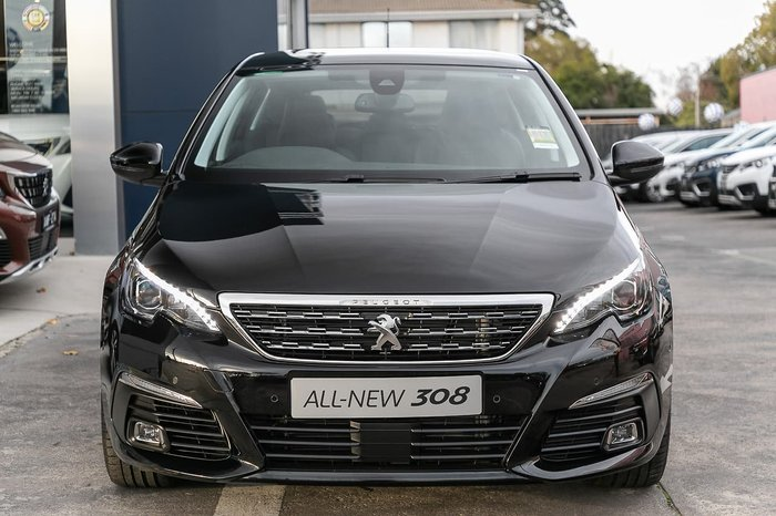 2017 Peugeot 308 Allure T9 MY17 Black