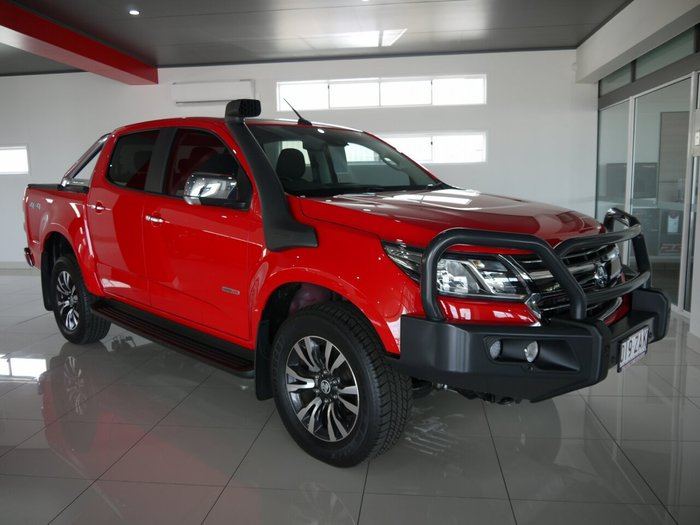2019 HOLDEN COLORADO LTZ Crew Cab Pickup 4x4 RG MY19 Absolute Red