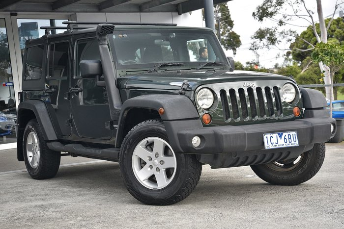 2011 Jeep Wrangler Unlimited Sport JK MY10 4X4 Green