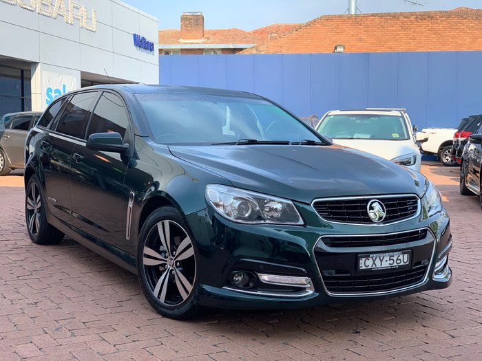 2014 Holden Commodore SV6 Storm VF MY14 Green