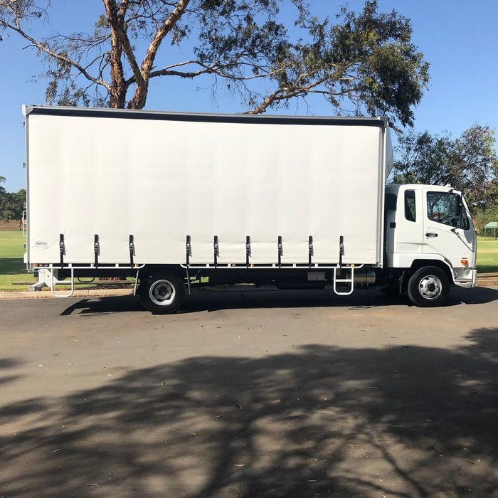 2019 FUSO FIGHTER 1024 MAN. TAUTLINER 2 YEARS FREE SERVICING* null null null