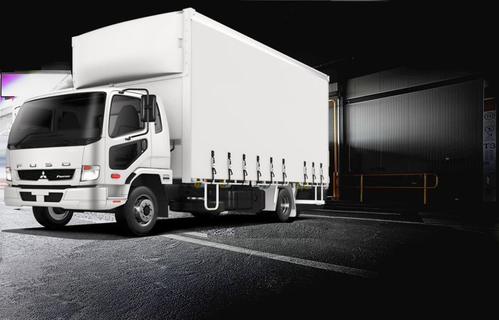 2019 FUSO FIGHTER 1124 AUTO 10P TAUTLINER INCREDIBLY FROM $343P/W*+ORC null null White