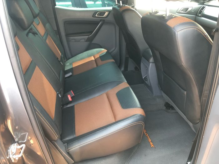 2017 Ford Ranger XL PX MkII MY18 4X4 Dual Range Grey