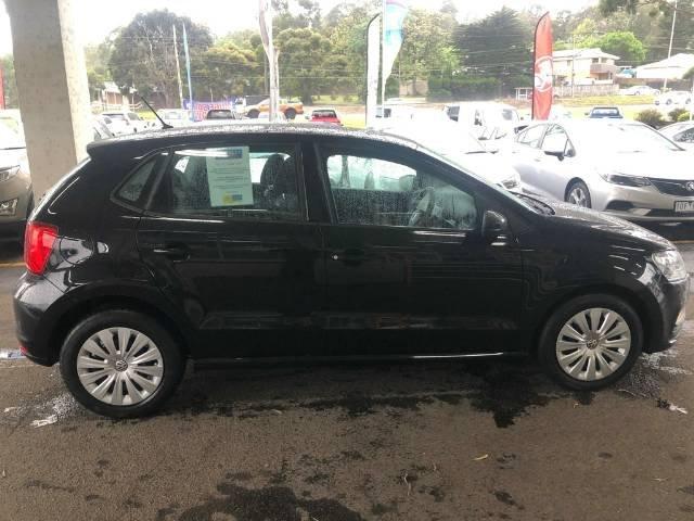 2014 Volkswagen Polo 66TSI Trendline 6R MY15 DEEP BLACK PEARL EFFECT