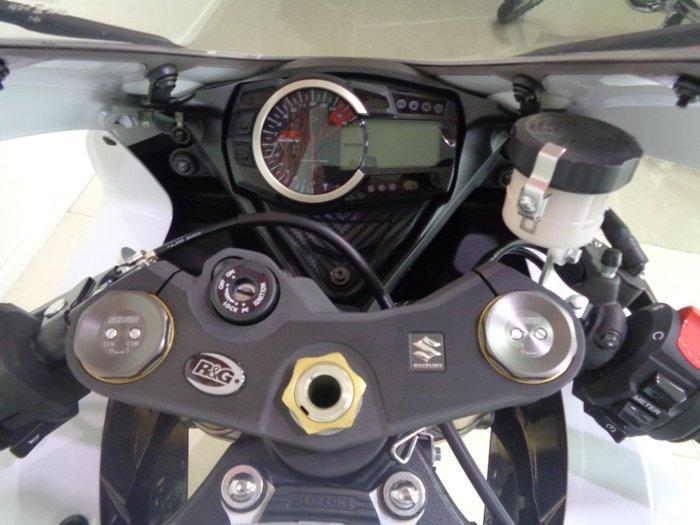 2011 Suzuki GSX-R750 Blue/White