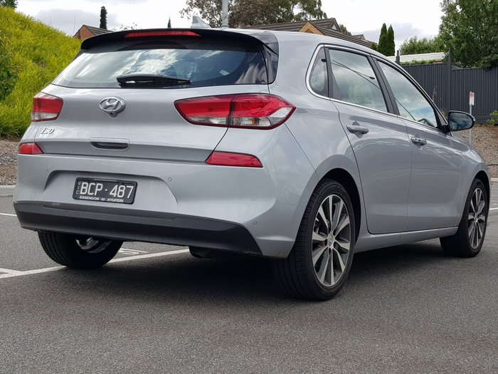 2019 Hyundai i30 Elite PD2 MY19 Silver