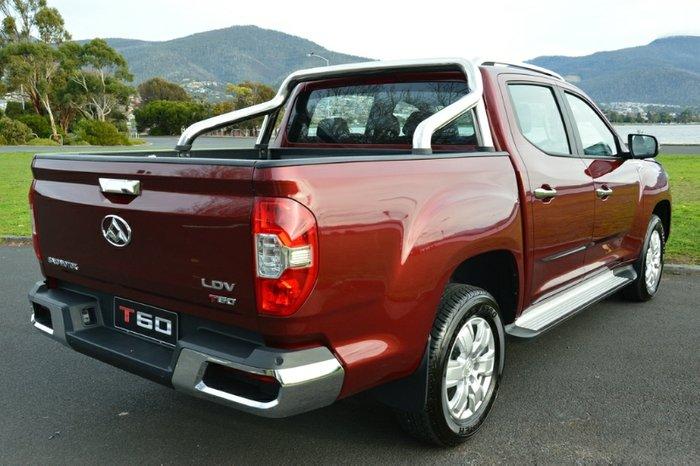 LDV T60 LUXE DUAL CAB SK8C BLACK