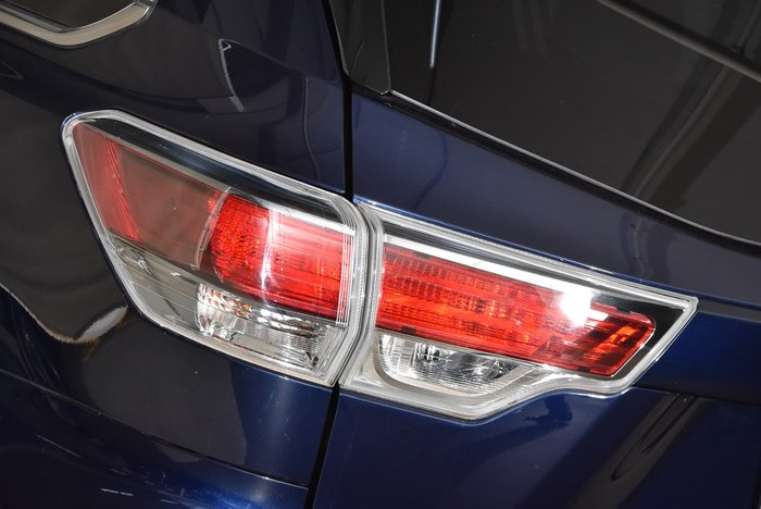 2015 Toyota Kluger GXL GSU55R Four Wheel Drive Blue