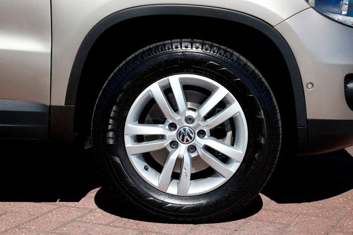 2012 Volkswagen Tiguan 132TSI Pacific 5N MY13 Four Wheel Drive Beige