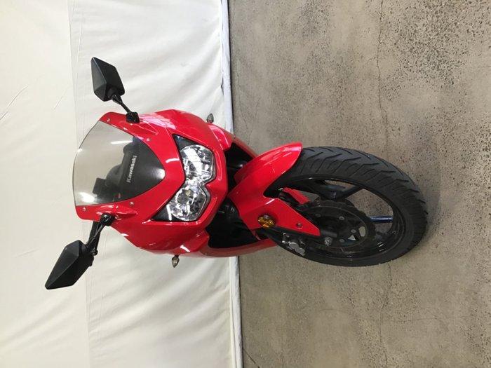 2011 Kawasaki NINJA 250R (EX250) Red