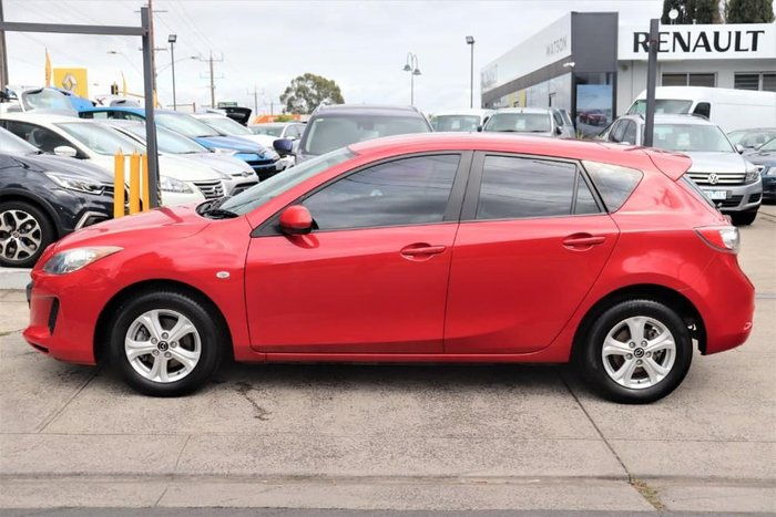 2013 Mazda 3 Neo BL Series 2 MY13 Red