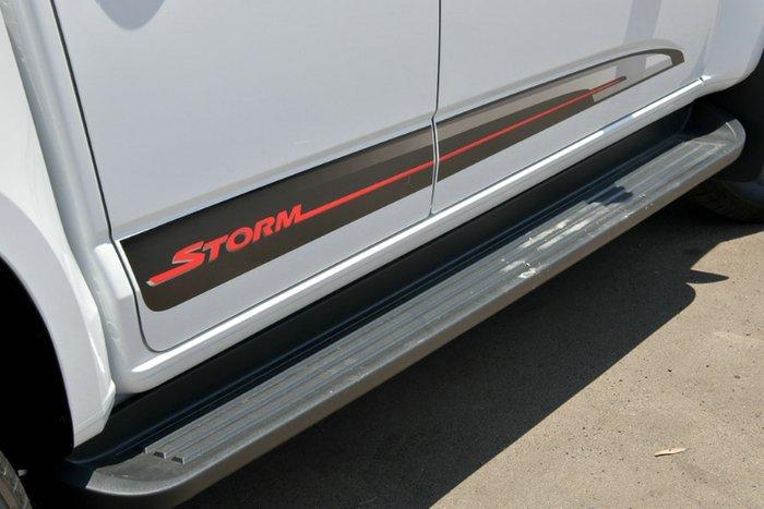 2019 Holden Colorado Storm RG MY20 4X4 Dual Range SUMMIT WHITE
