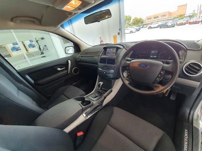 2011 Ford Territory TX SZ Four Wheel Drive Silver