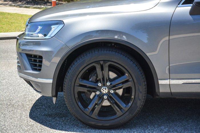 2016 Volkswagen Touareg Wolfsburg Edition 7P MY17 Four Wheel Drive Grey