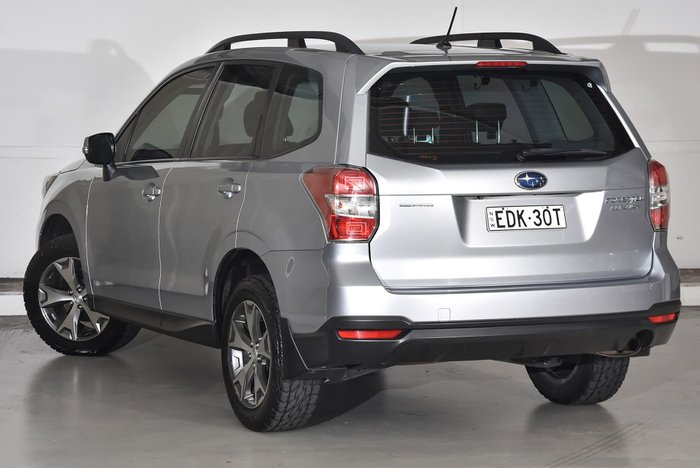 2014 Subaru Forester 2.5i Luxury S4 MY14 Four Wheel Drive Silver