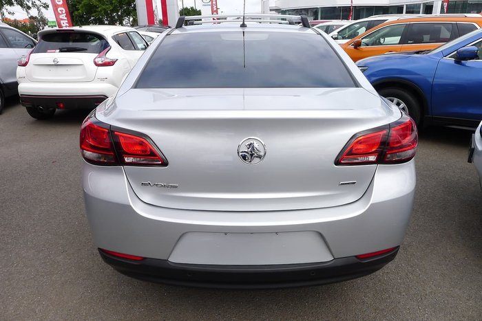 2017 Holden Commodore Evoke VF Series II MY17 Silver