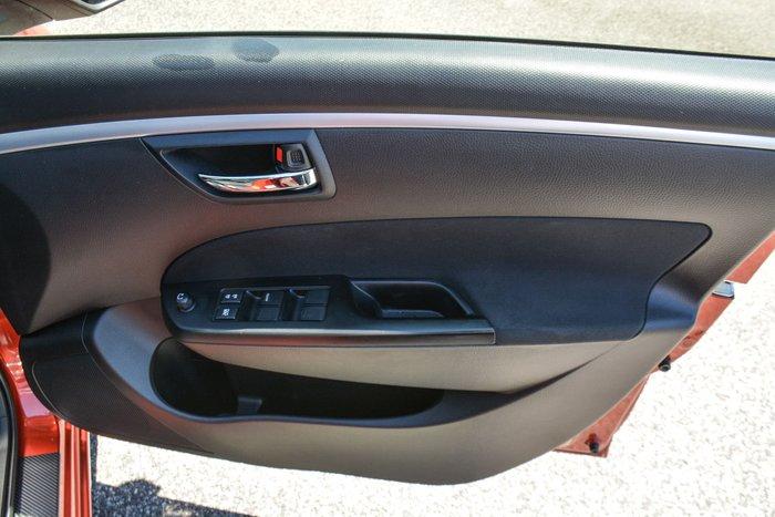 2013 Suzuki Swift GLX FZ Red
