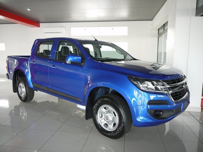 2019 HOLDEN COLORADO LS Crew Cab Pickup 4x4 RG MY20 Power Blue