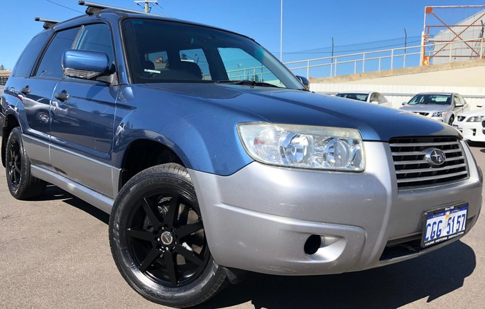 2008 Subaru Forester X Columbia 79V MY08 Four Wheel Drive Blue