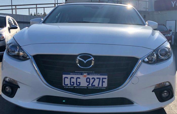 2014 Mazda 3 SP25 BM Series White