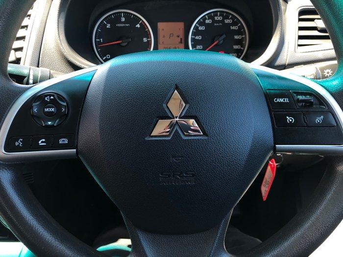 2017 Mitsubishi Triton GLX MQ MY18 4X4 Dual Range White