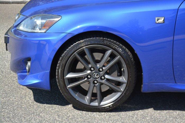 2012 Lexus IS IS350 F Sport GSE21R Blue