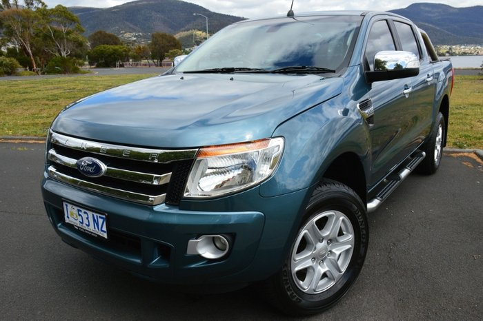 2015 Ford Ranger XLT PX 4X4 Dual Range BLUE