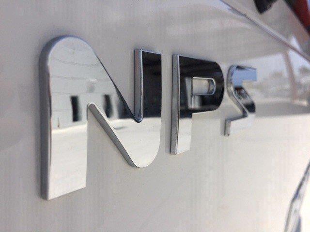 2019 Isuzu NPS 75/45-155 4x4 White