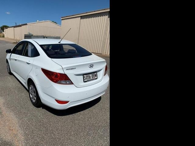 2014 Hyundai ACCENT 2014 Hyundai ACCENT SEDAN CRYSTAL WHITE/BLACK