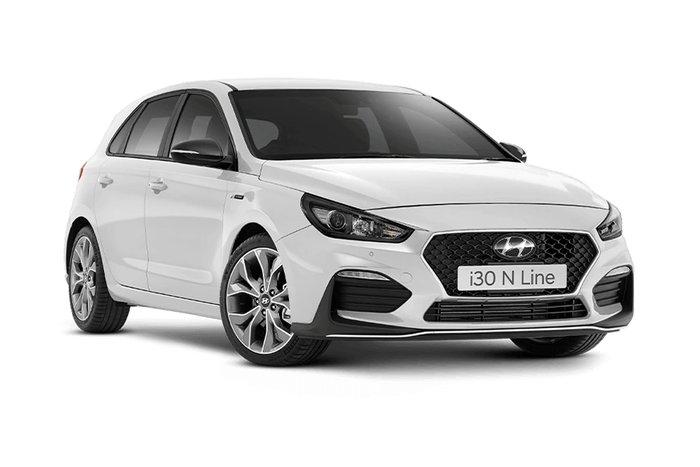 2019 Hyundai i30 N Line PD.3 MY20 White