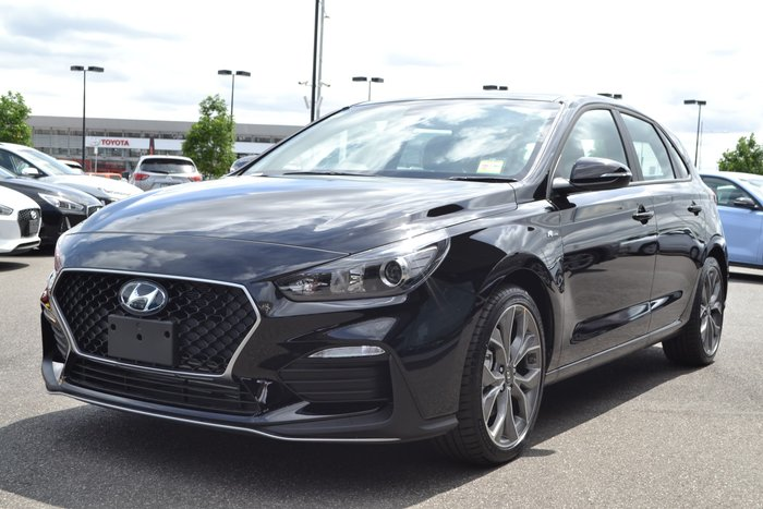 2019 Hyundai i30 N Line PD.3 MY20 Black