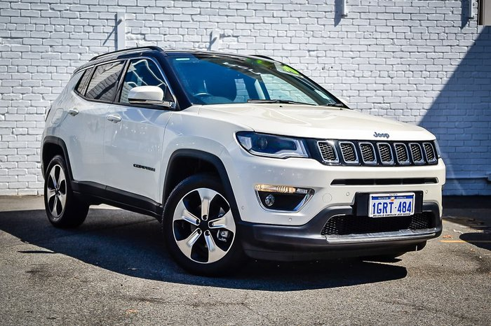 2018 Jeep Compass Limited M6 MY18 4X4 On Demand White