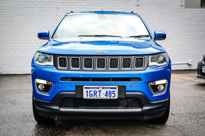 2018 Jeep Compass Limited M6 MY18 4X4 On Demand Blue
