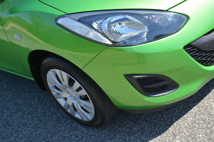 2010 Mazda 2 Neo DE Series 1 Green