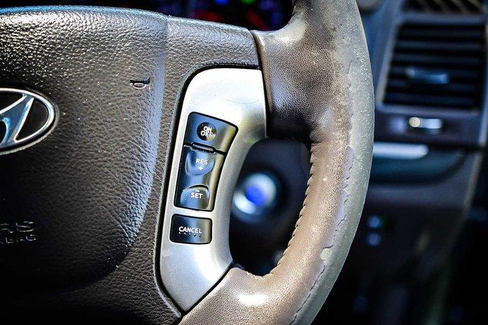 2012 Hyundai Santa Fe Elite CM MY12 4X4 On Demand Grey