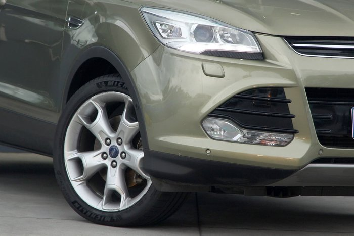 2013 Ford Kuga Titanium TF 4X4 On Demand Green