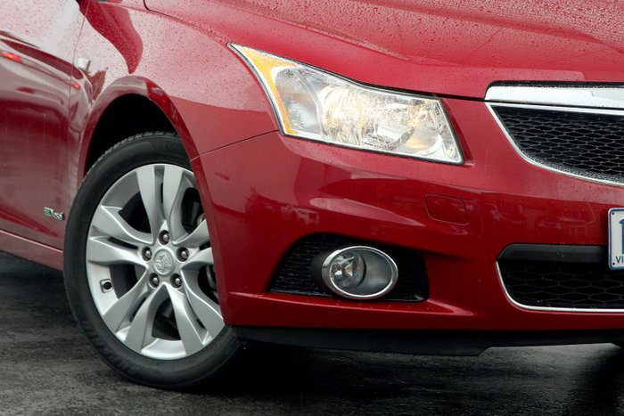 2014 Holden Cruze CD JH Series II MY14 Red