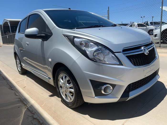 2015 Holden Barina CD TM MY15 Silver