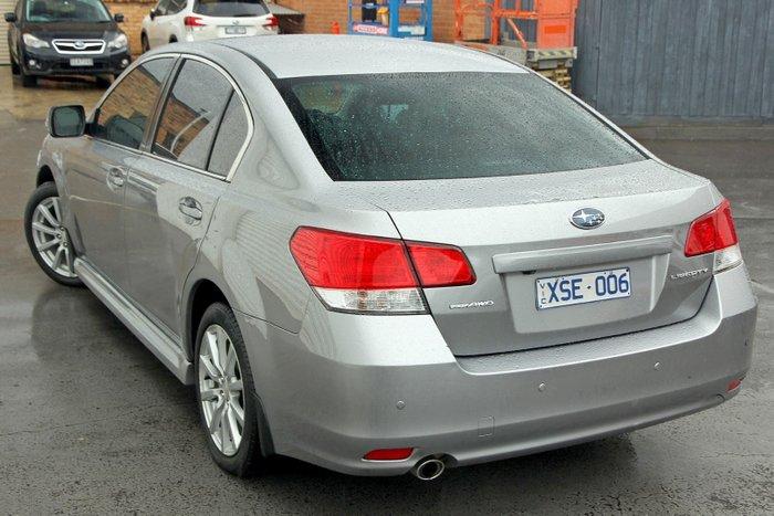 2010 Subaru Liberty 2.5i Premium 5GEN MY10 Four Wheel Drive Silver