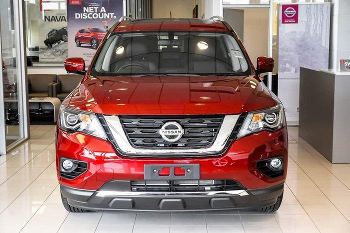 2018 Nissan Pathfinder ST-L R52 Series III MY19 Red