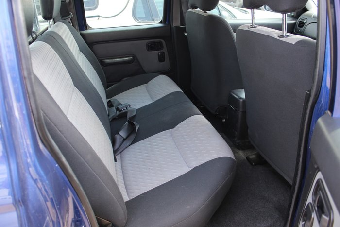 2008 Nissan Navara ST-R D22 MY08 4X4 Blue