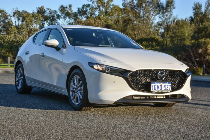 2019 Mazda 3 G20 Pure BP Series White