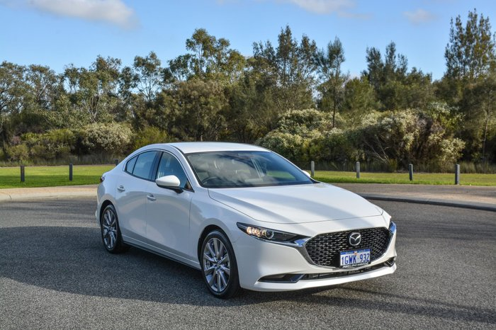 2019 Mazda 3 G20 Touring BP Series White